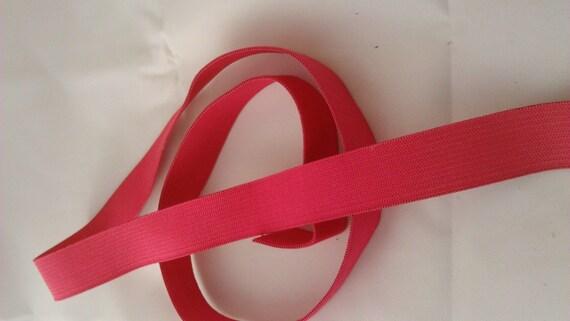 Elastic pink - 2 cm wide - 2 meters