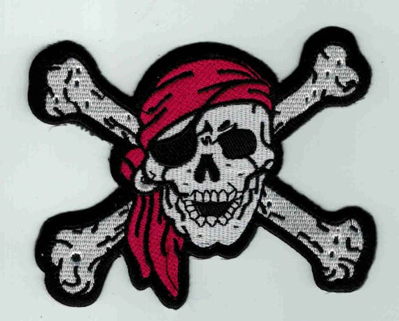 "Patch fusible trend pattern ""pirate"""