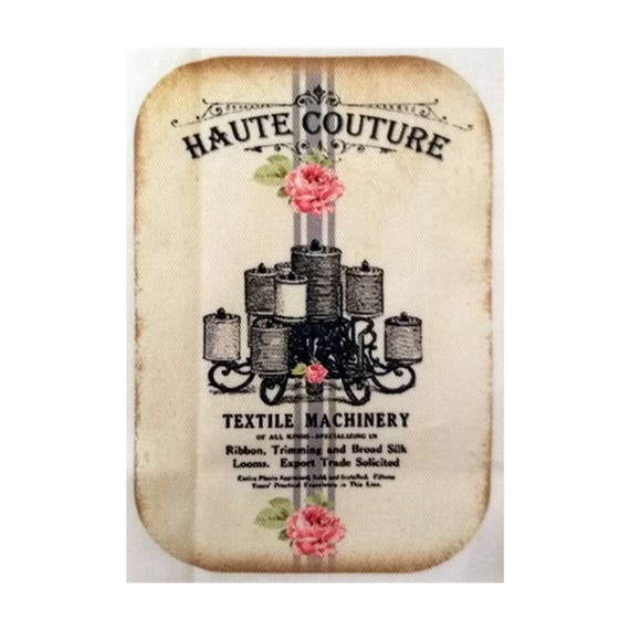 """Applied fusible - AT412-5 """"Haute Couture"""" Collection"""