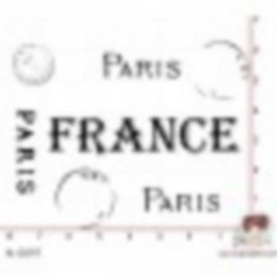 Has SCR119 scraposphere rubber stamp mount france