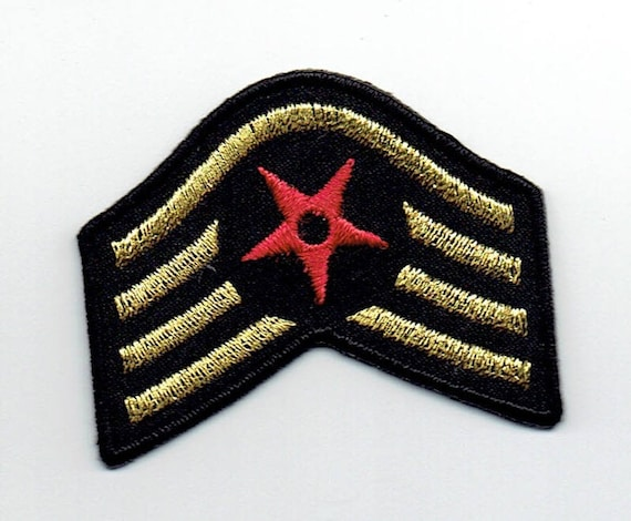 """Patch fusible trend pattern """"Army badge"""""""