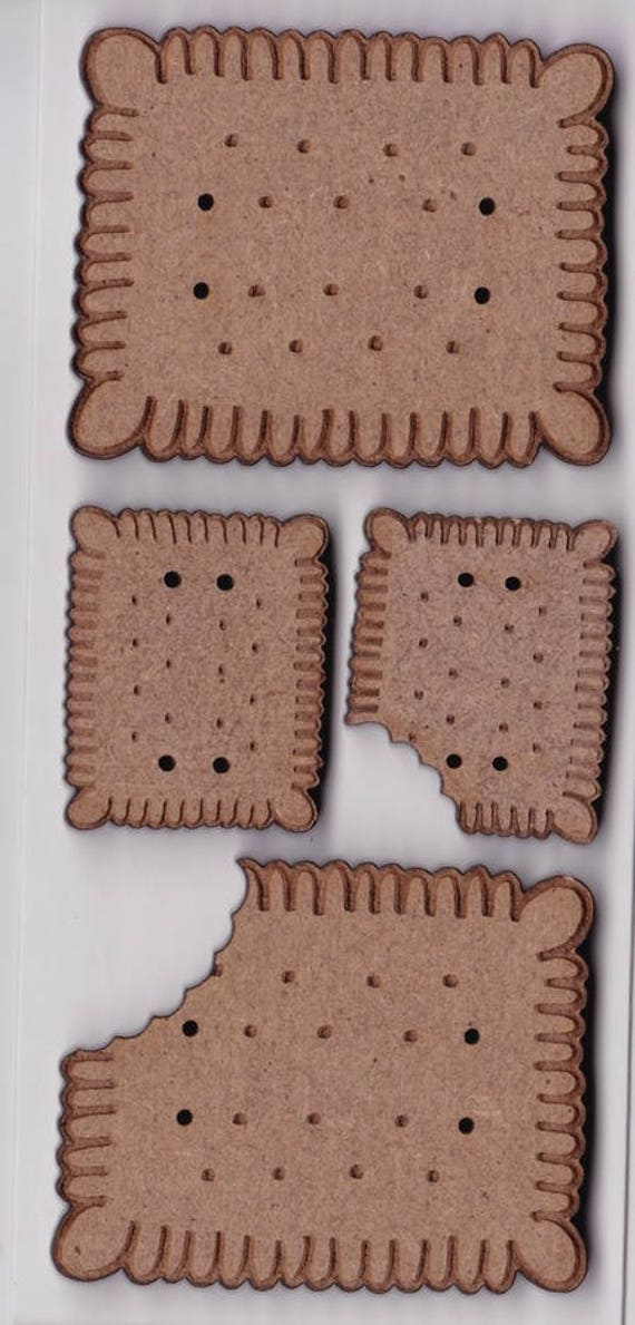 "Buttons craft Board wood motif ""Cake"""