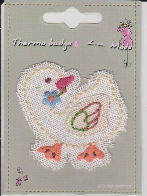"Patch fusible trend pattern ""Duck"""