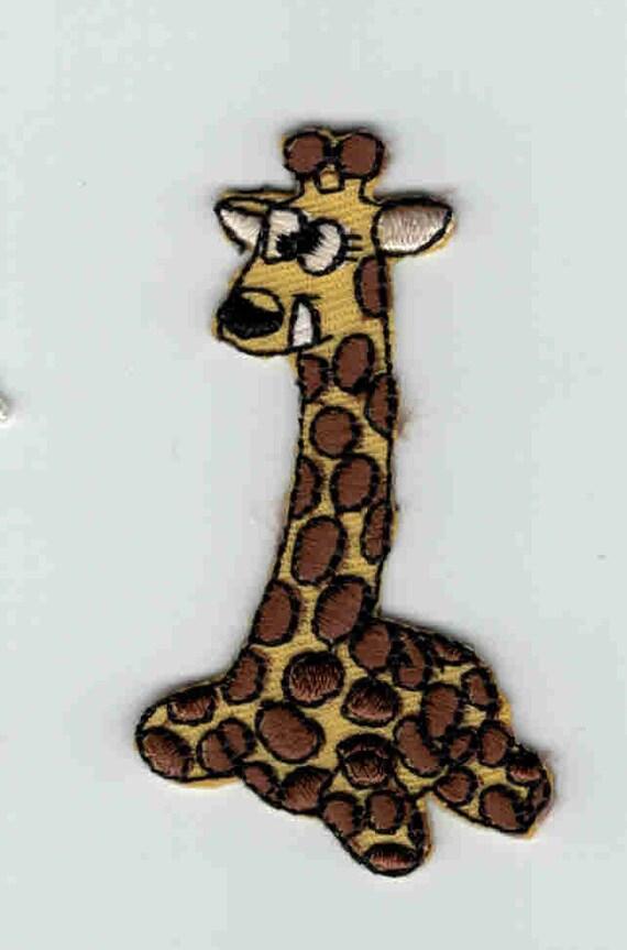 "Patch fusible trend pattern ""Giraffe"""