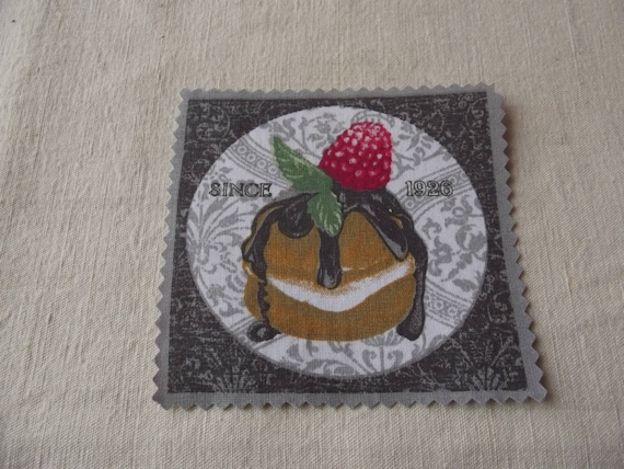PASTRY 17 - Applied fusible cotton pastry