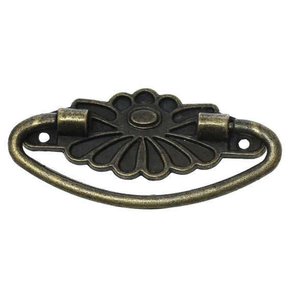 1 handle - bronze - size: 85 mm
