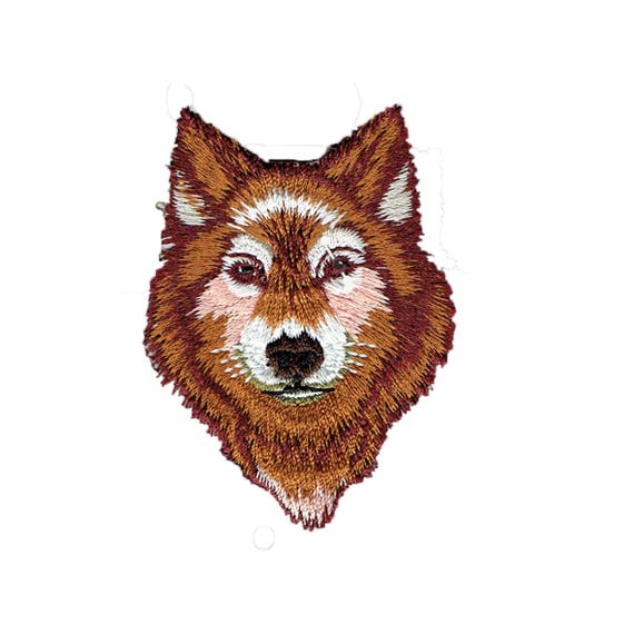 "Patch fusible pattern ""Wolf"""