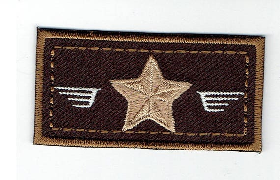 "Patch fusible trend pattern ""Army"""