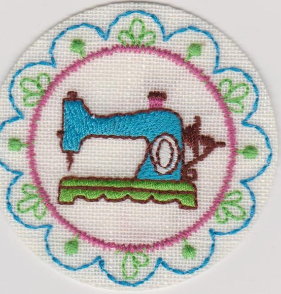 """Patch fusible trend pattern """"sewing"""""""