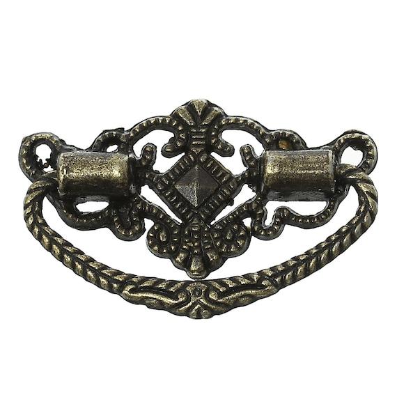 2 handles - bronze - size: 48 mm
