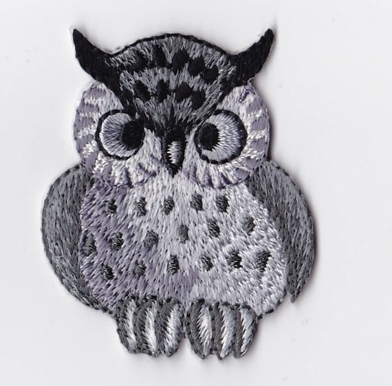 """Patch fusible trend pattern """"OWL"""""""