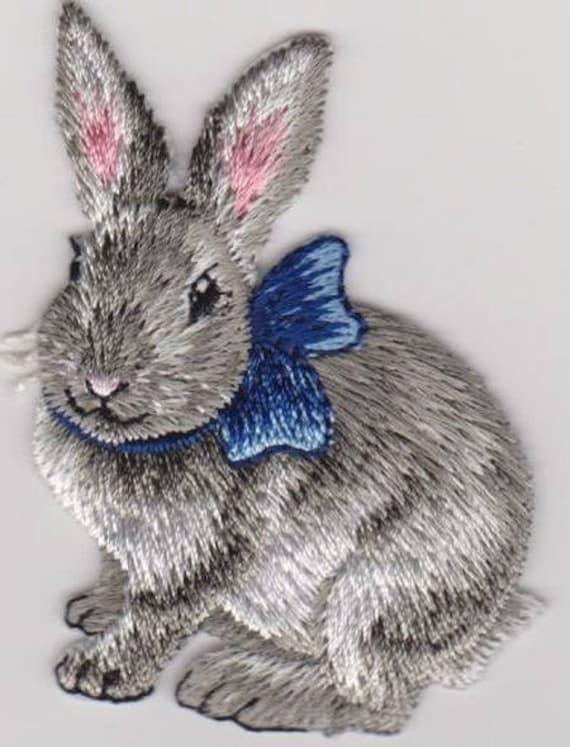 "Patch fusible trend pattern ""rabbit"""