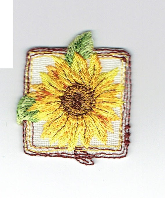 "Patch fusible trend pattern ""Flower"""