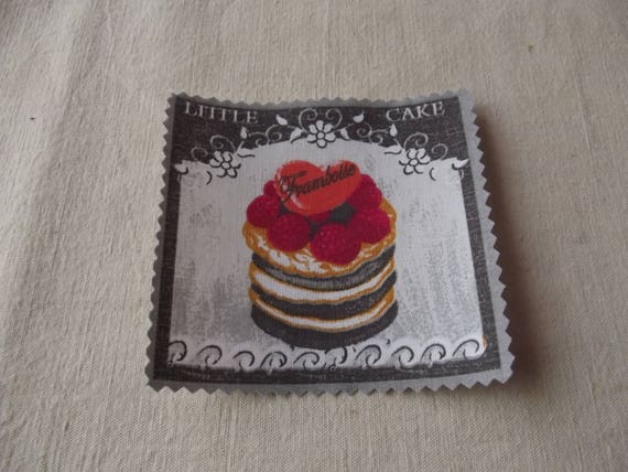 PASTRY 22 - Applied fusible cotton pastry