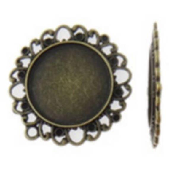 Support bronze retro color 25 mm