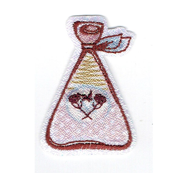 "Patch fusible trend pattern ""perfume"""