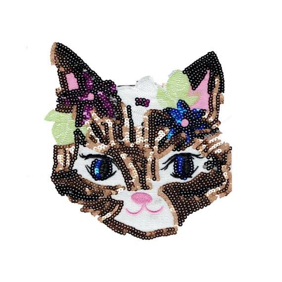 "Patch to sew pattern ""Cat"""