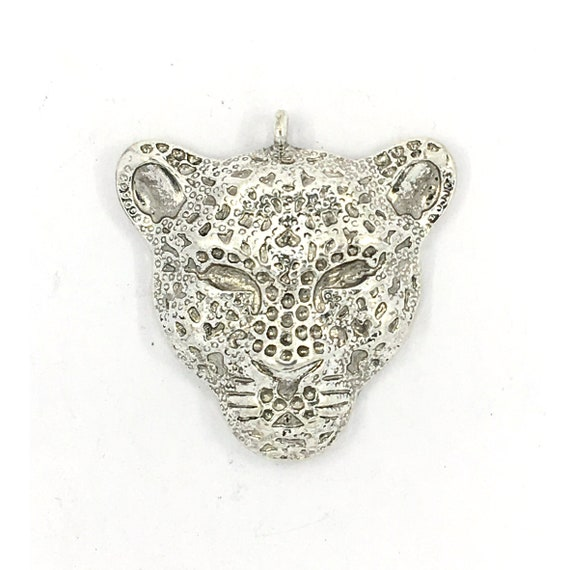 "Great charm - silver tone ""Tiger"""