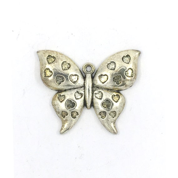 "Great charm - silver tone ""Butterfly"""