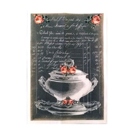 """Collection """"Bon Appetit"""" 8-4  - Appliqué thermocollant"""