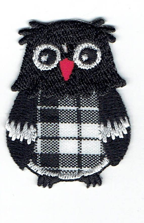 """Patch fusible trend """"OWL"""" pattern"""
