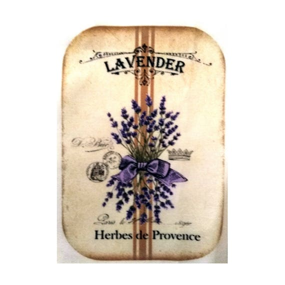 "Applied fusible - Collection ""Lavender"" AT403-8"