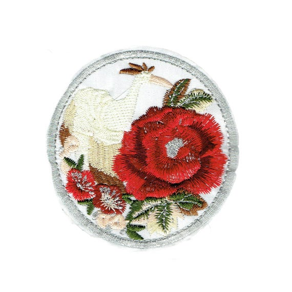 """Patch fusible """"ROSE"""" pattern"""