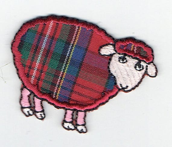 """Patch fusible trend """"sheep"""" pattern"""