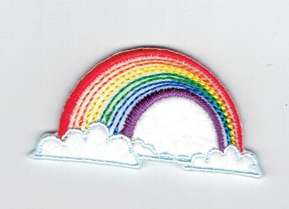 "Patch fusible trend pattern ""Rainbow"""