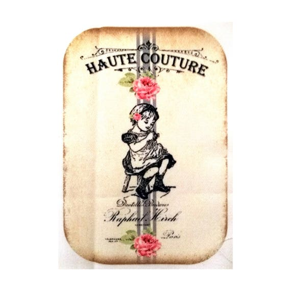 """Applied fusible - AT412 7 """"Haute Couture"""" Collection"""