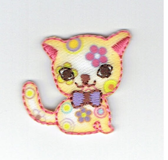 """Patch fusible trend pattern """"cat"""""""