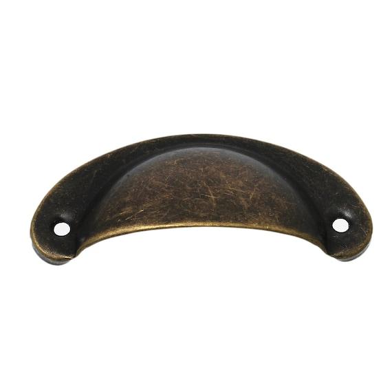 2 handles - bronze - size: 82 mm