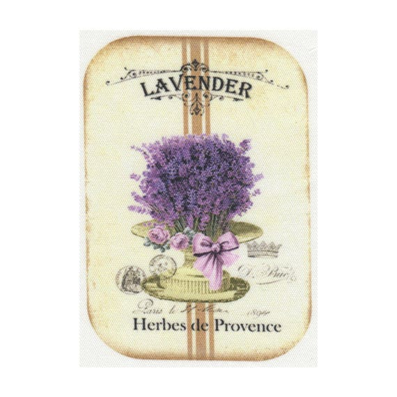 """Applied fusible - Collection """"Lavender"""" AT403-5"""