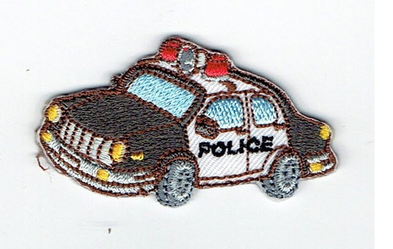 "Patch Thermo trend pattern ""Police"""
