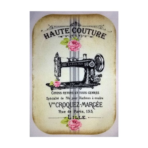 """Applied fusible - AT412-1 """"Haute Couture"""" Collection"""