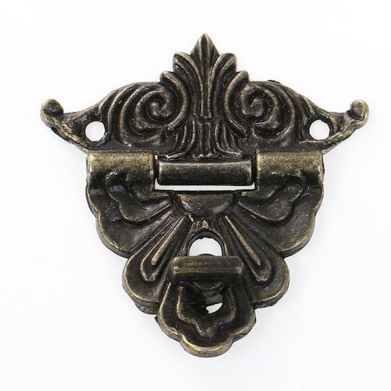 1 clasp set - bronze - size: 47 mm