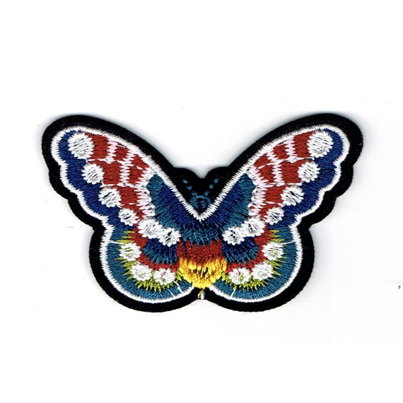 "Patch fusible pattern ""Butterfly"""