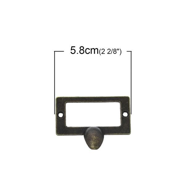 2 handles - bronze - size: 58 mm