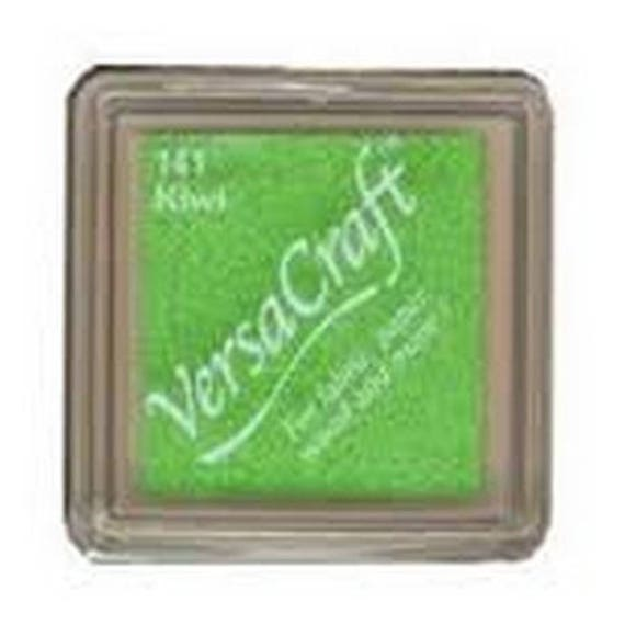 Kiwi VERSACRAFT ink - green - fabric and wood