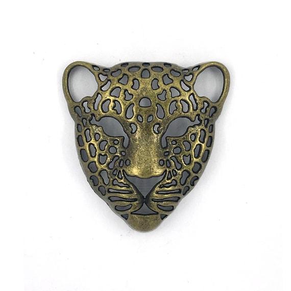 "Grande breloque - couleur bronze ""tigre"""