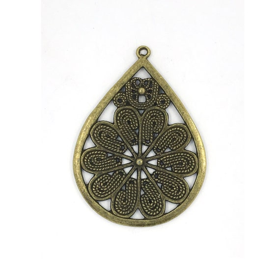 """Great find charms - """"flower"""""""