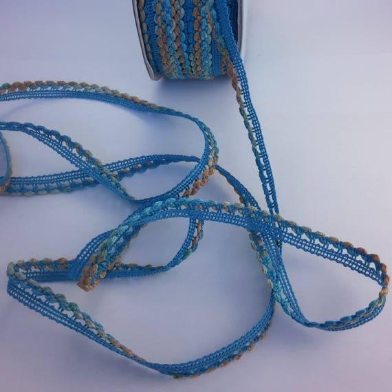 Multicolored fancy Ribbon blue main color
