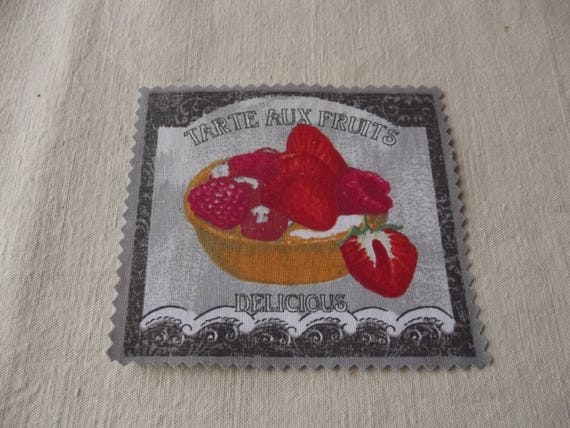 PASTRY 18 - Applied fusible cotton pastry