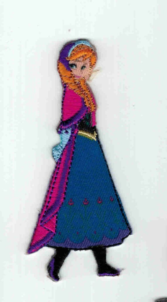 "Patch fusible trend pattern ""snow Queen"""