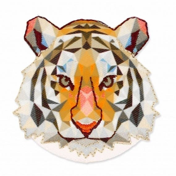 "Patch fusible trendy motive ""Tiger"""