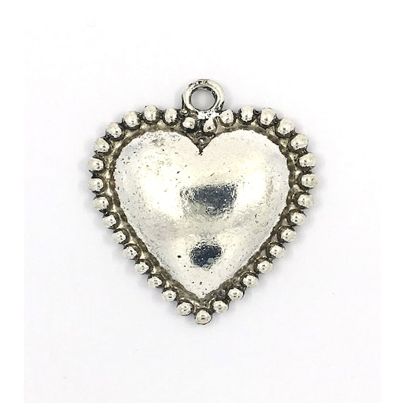 "Great charm - silver tone ""Heart"""