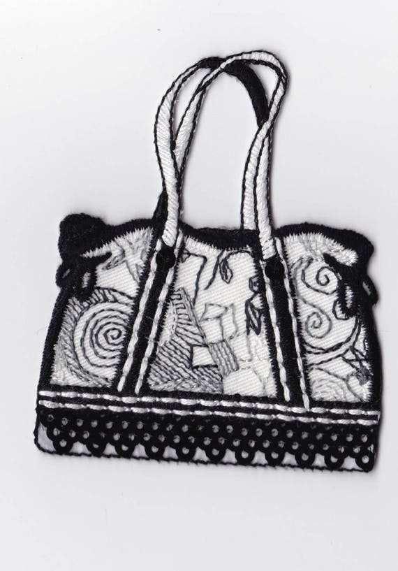 """Patch fusible trend pattern """"Bag"""""""