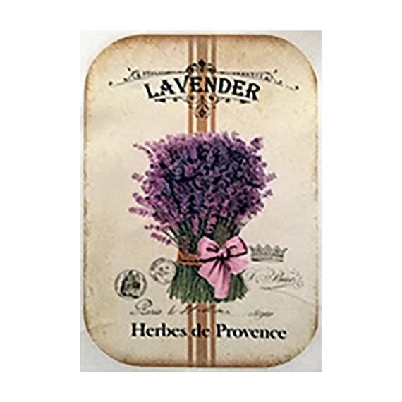 "Applied fusible - Collection ""Lavender"" AT403-1"