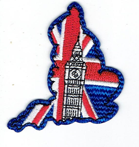 "Patch fusible trend pattern ""England"""