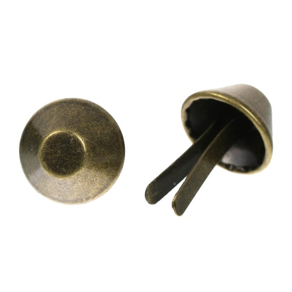 Set of 10 foot of bag - bronze - size: 25 mm